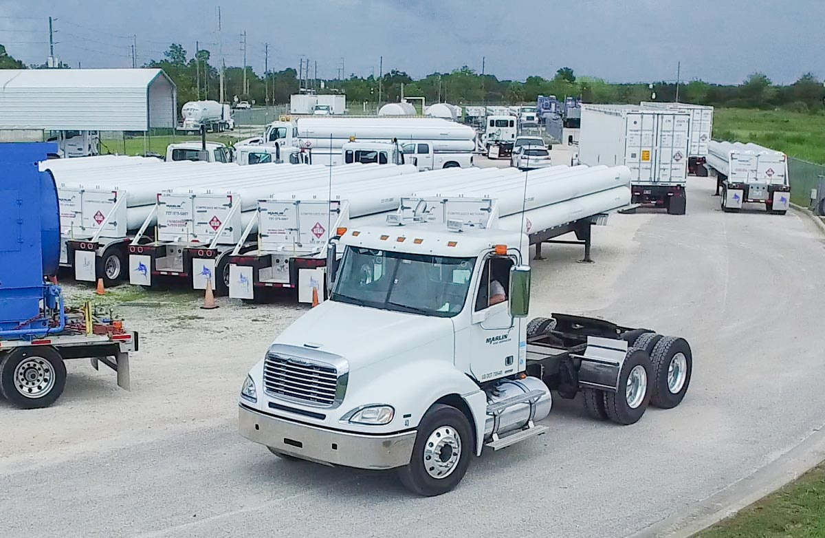 Marlin Trucks and Fuel Trailers